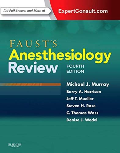 Free To Download Faust S Anesthesiology Review Digital Book Electronic Books These And Dissertation