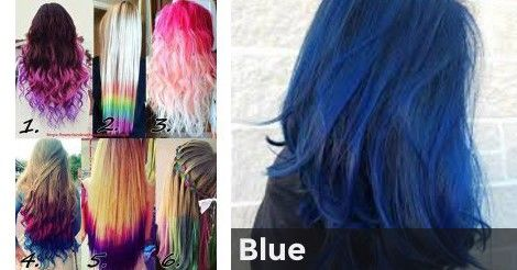Blue What Color Should You Dye Your Hair Hair Color Quiz Hair Quiz Hair
