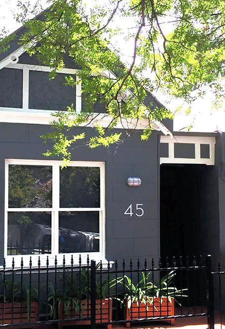 Modern House Numbers Letters Modern House Number House Numbers Palm Springs Houses