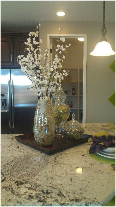 14 Animated Kitchen Table Centerpiece Ideas Images Island Dining Room Centerpieces Decor