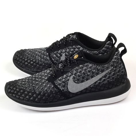 huge discount 100% quality cheap for sale Details about Nike Roshe Two Flyknit 365 Womens 861706-001 Grey ...