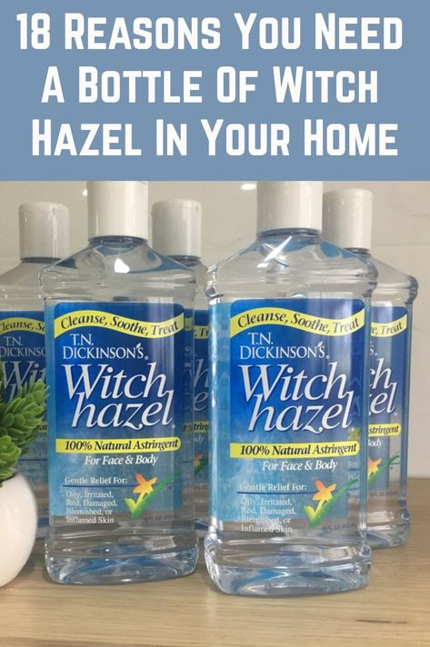 Witch Hazel: 18 Uses For This Powerful Little Bottle