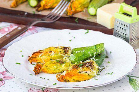 Vegetarische Zucchettibluten Mit Frischkase Rezept Rezepte Mit Frischkase Rezepte Rezepte Gesund
