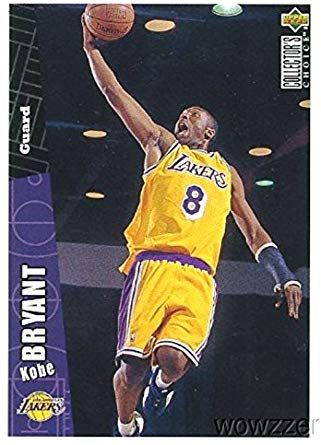 1996 Rookie Phenoms Custom Made Card Only 2000 Made KOBE BRYANT Limited Edition Basketball Rookie Card