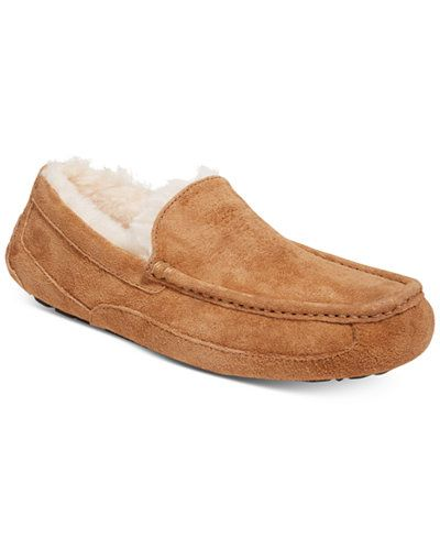 23289cfab5f UGG® Men's Ascot Slippers | GIFT GUIDE: HIM | Mens ascot, Slippers ...