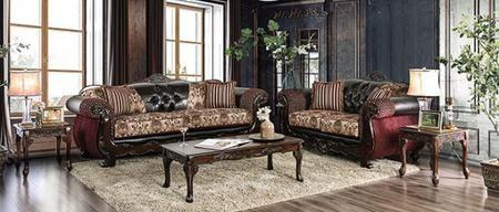 Qurino Sm6415 Sflv3pk 5 Piece Living Room Sets With Sofa Loveseat