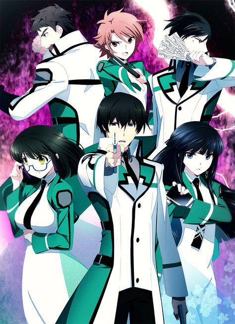 Anime Mahouka Koukou No Rettousei With Images Anime 2014