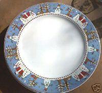 debbie mumm snowman dishes My Christmas plates! Christmas Dinnerware ... & Set of 8 Debbie Mumm SAKURA Snowflake 11\