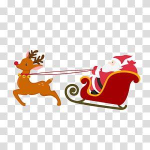 Santa Claus Reindeer Christmas Card Christmas Ornament Santa Claus Transparent Background Png Christmas Card Wishes Christmas Border Christmas Hat Transparent