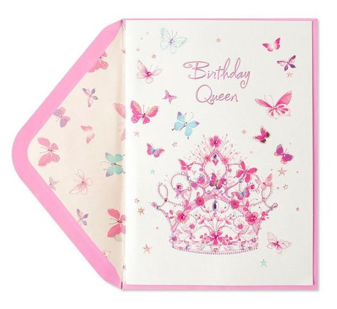 Birthday Queen Papyrus Card