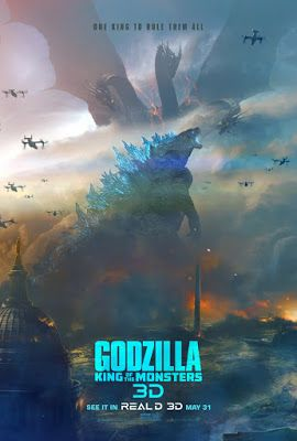 Godzilla King Of The Monsters Trailers Tv Spots Clips Featurettes Images And Posters Movie Monsters Godzilla Kaiju Monsters
