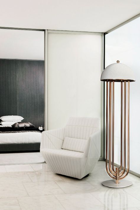 Standing lamps living room bedroom designs  | For more ideas and inspirations about modern floor lamps go to: www.modernfloorlamps.net