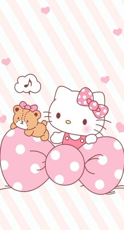 28 Trendy Wallpaper Cute Kawaii Hello Kitty Hello Kitty Iphone Wallpaper Hello Kitty Backgrounds Hello Kitty Images