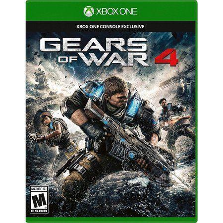 Gears Of War 4 Microsoft Xbox One 889842262056 Walmart Com Gears Of War Xbox One Games Xbox One
