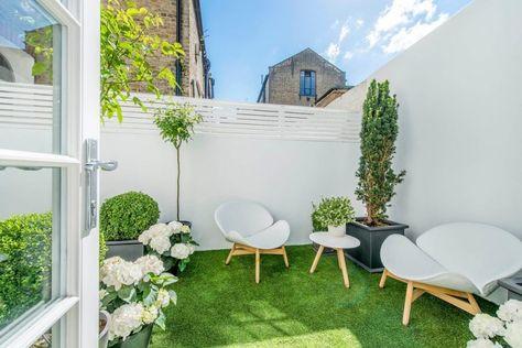 konsep taman minimalis yang cantik di dalam rumah