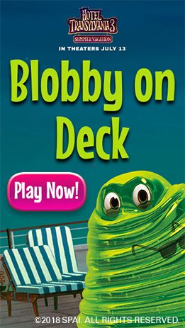 Blobby On Deck Sony Pictures Deck Hotel Transylvania