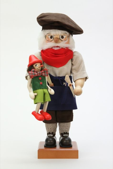 Ulbricht Gepetto with Pinocchio Nutcracker - Limited Edition - Welcome the holidays by decorating with the Ulbricht Gepetto with Pinocchio Nutcracker - Limited Edition. There is only of these limited edi.