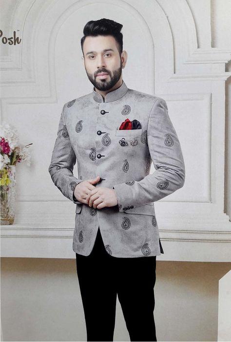 Blazer Outfits Men, Mens Fashion Blazer, Stylish Mens Outfits, Suit Fashion, Look Fashion, Mens Blazer Styles, Fashion Pants, Blazer For Men Wedding, Sherwani For Men Wedding