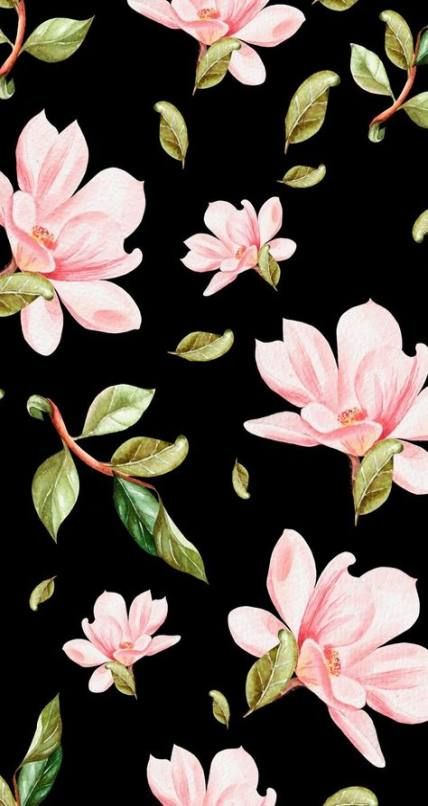 22 Ideas Wall Paper Tumblr Lockscreen Floral For 2019 Floral Wallpaper Iphone Flowers Black Background Floral Wallpaper Lock screen flower wallpaper iphone 11