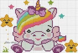 Resultado De Imagen De Unicornio Em Ponto De Cruz Puntos De Cruz Divertidos Punto De Cruz Bebe Punto De Cruz Disney
