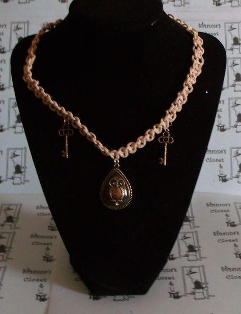 The Goddess Hecate/Hekate Braided Hemp by SosannasEtsyShop on Etsy, $19.00  ***SOLD***