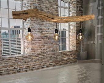 Plafoniere Per Van : Ceiling lamp of old oak branch woonkamer pinterest