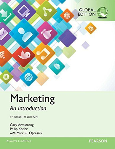 Marketing An Introduction Global Edition By Philip Kotl Https Www Amazon Com Dp 1292146508 Ref C Marketing An Introduction Ebook Marketing Marketing Pdf
