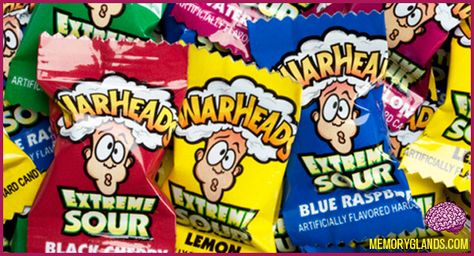 eat a whole bag or warheads?  Challenge accepted!!