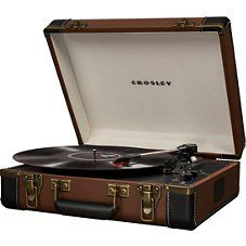 Best Record Player, Vinyl Record Player, Record Players, Usb Turntable, Bluetooth, Palette, Brown, Music, Overlays