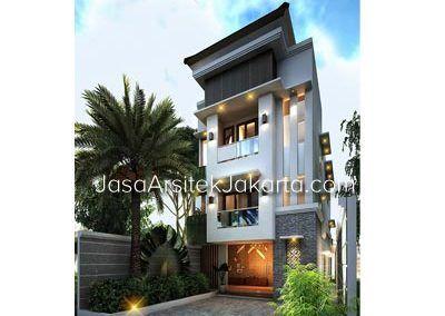 Desain Rumah 2 Lantai Luas Bangunan 210 M2 Bp Edwin Jakarta Jasa Arsitek Jakarta Desain Rumah Rumah Home Fashion
