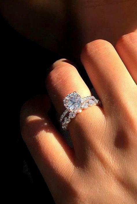 Elegant Wedding Rings, Wedding Rings Simple, Wedding Rings Vintage, Wedding Rings For Women, Diamond Wedding Rings, Unique Rings, Solitaire Rings, Unique Wedding Rings, Circle Wedding Rings