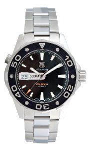 TAG Heuer Men's WAJ2114.BA0871 Aquaracer 500 M Calibre 5 Automatic Black Dial Watch