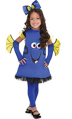 Fancy Dress Costume ~ Disney Finding Dory Tabard Ages 2-6 Years