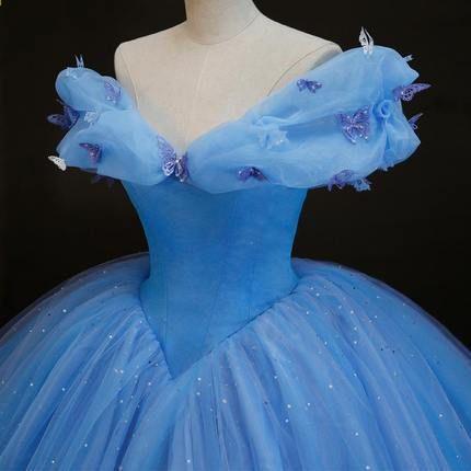 54050a4ecdc 2015 Ny film Cinderella Princess Dress Underbara kostym cosplay halloween  kostymer för kvinnor kan vara skräddarsydda gratis frakt