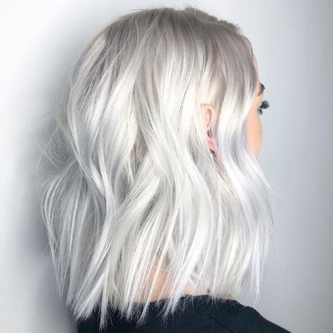 Clear Platinum White Blonde Haircolor Formula With Images