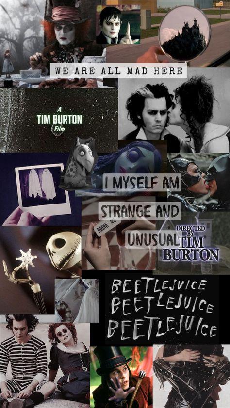 Tim Burton Aesthetic