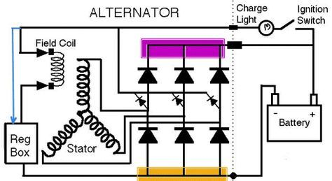 How A Diode Works Electrical Circuit Diagram Electronic Circuit Projects Electrical Projects