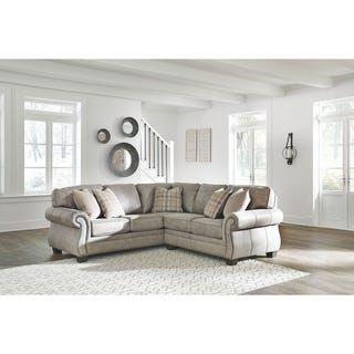 Olsberg Left Facing 2 Piece Sectional Steel Furniture Living Room Furniture Living Room Furniture Styles