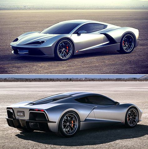 The #Aria FXE Is An #American-Made Mid-Engine 1150-HP Hybrid #Supercar