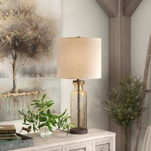 Wrought Studio Grassingt 28 Table Lamp Wayfair Table Lamp Stylish Table Lamps Lamps Living Room