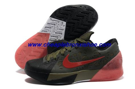 e5eb5d9ee48 Buy Nike Zoom KD 6 Black Army Green Red For Wholesale