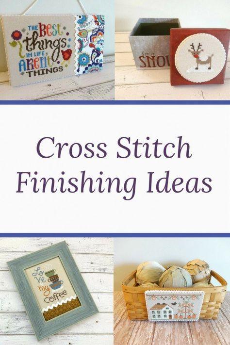 Cross Stitch Finishing Ideas