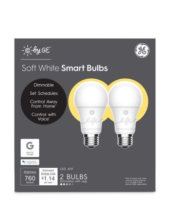 C By Ge Soft White Smart Led Light Bulbs 2 Pack White In 2020
