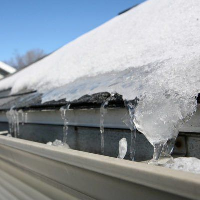 Here S How To Remove An Ice Dam From Your Roof Safely Household Ideas Home Repairs Home Improvement Projects Winter House
