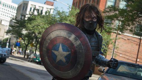 HD wallpaper: Captain America Marvel The Winter Soldier Shield Bucky Barnes HD, captain america winter soldier