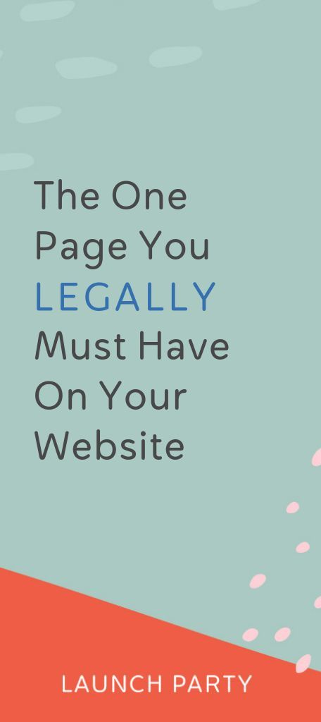 One Essential Page You Might Be Forgetting Your Privacy Policy Business Website Business Tips Web Design Tips