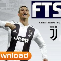 Fts 2019 Android Offline Update Ronaldo In Juventus Kits Download Game Download Free Barcelona Team Soccer Games