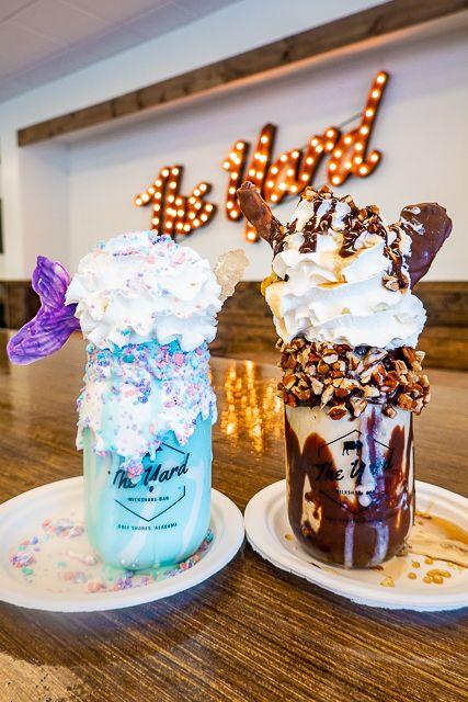 The Yard Milkshake Bar Gulf Shores Al Milkshake Bar Orange Beach Alabama Alabama Beaches