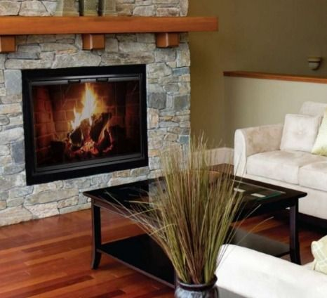 It S Summer And Your Fireplace Is Taking A Rest From All The Hard Work It S Done All Winter Long But It Fireplace Glass Doors Prefab Fireplace Fireplace Doors