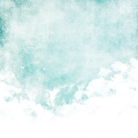 Water color like cloud on old paper texture background Self-Adhesive Wall Mural - Styles
